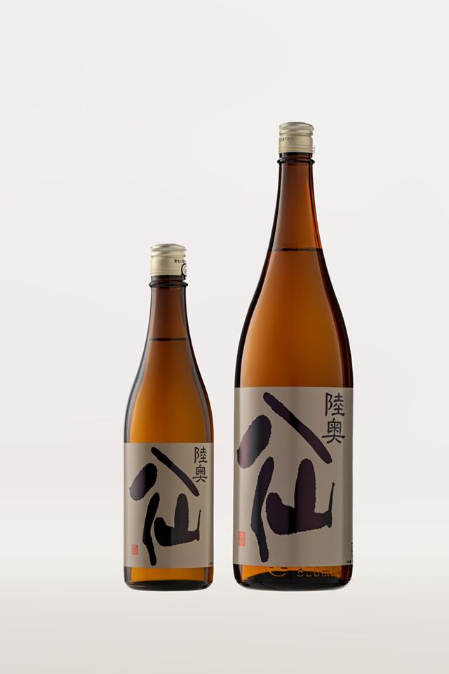 Mutsu Hassen Label noir , Junmai Ginjo