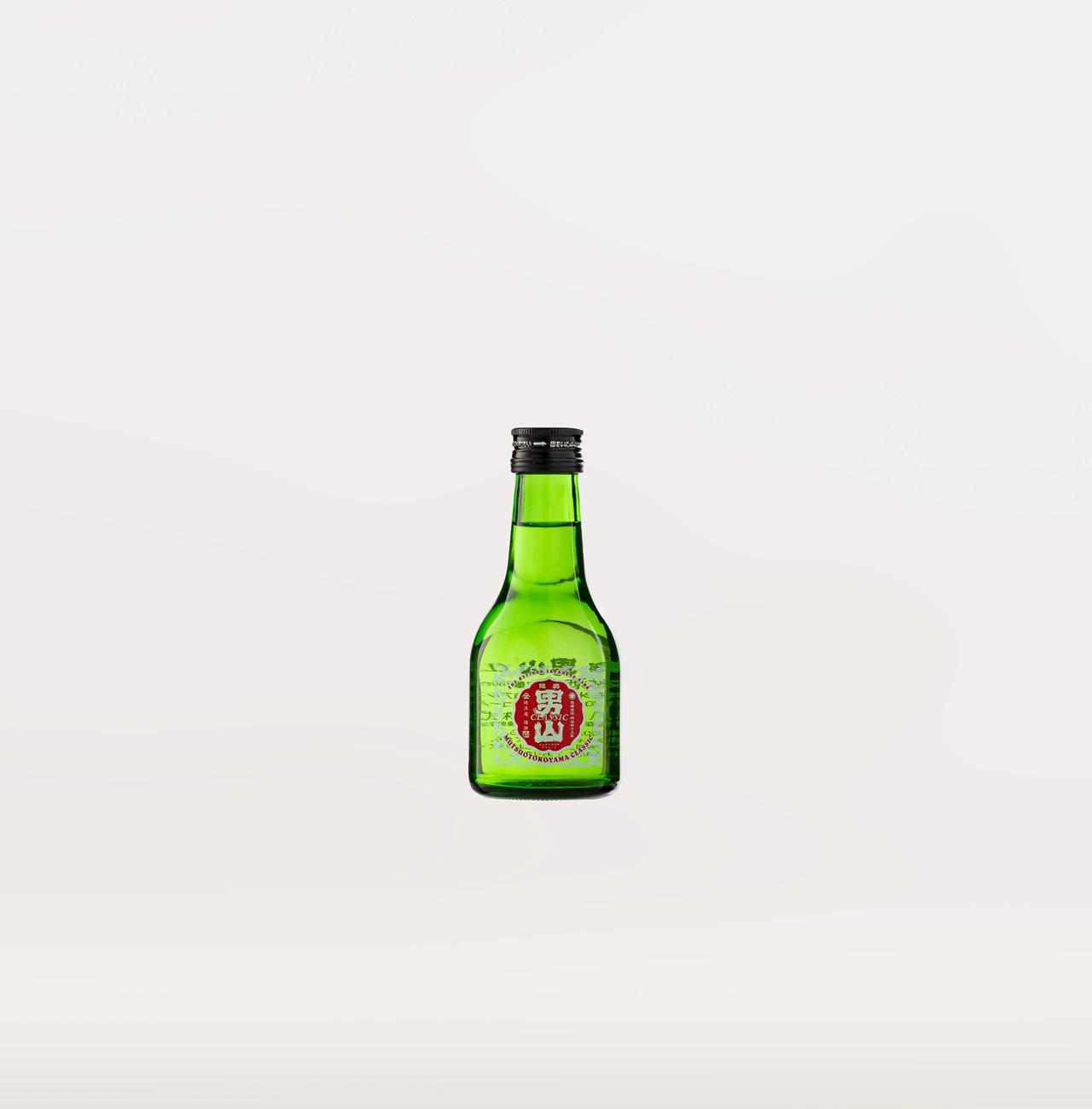 陸奥男山 一合瓶 180ml